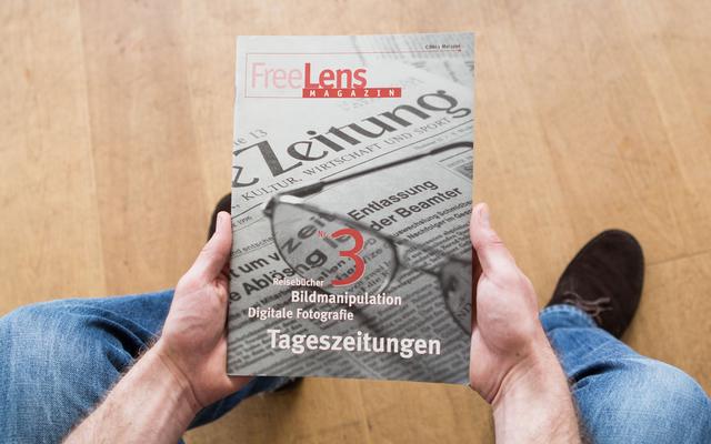 Das dritte FREELENS Magazin beschäftigt sich mit dem Schwerpunktthema Tageszeitungen.
