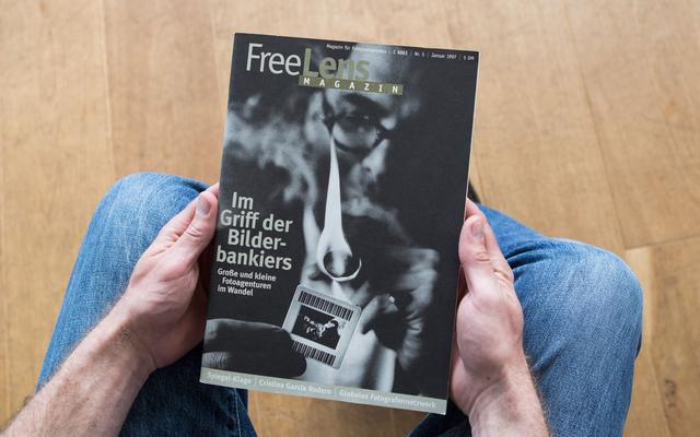 Fotoagenturen im Wandel – Schwerpunktthema im FREELENS Magazin #5. Mit einem Titelfoto von Bernd Arnold.