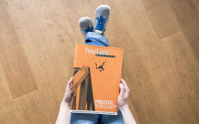 Titelthema Freistil – mit einem Titelfoto von Herbert Perl/Voller Ernst.