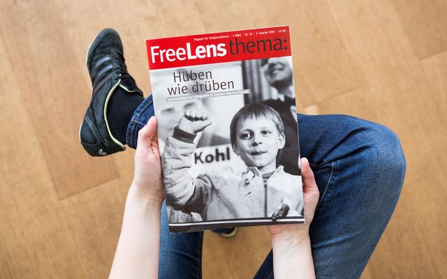 Journalistische Fotografie hüben wie drüben. Mit einem Titelfoto von Erika Sulzer-Kleinemeier.
