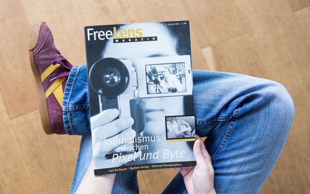 Ein Heft zu den Anfängen der digitalen Revolution. Das Titelbild stammt von Frank Siemers.