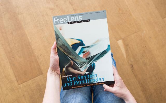 Einblicke in die Welt der Fotobücher bietet diese Ausgabe unseres Magazins. Das Titelfoto stammt von Frank Siemers.