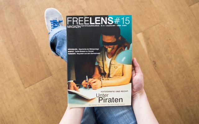 Unser Magazin #15 begibt sich in den Paragraphendschungel – mit einem Titelbild von Frank Siemers.