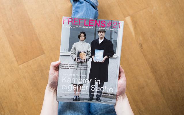 Zehn Jahre FREELENS – das Titelmotiv zum Jubiläum fotografierte Jörg Modrow.