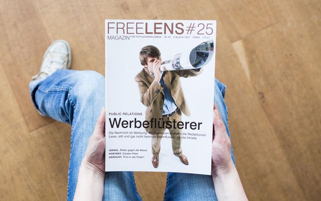 Der Spagat zwischen Marketing und Journalismus. Unser Titelthema. Mit einem Titelbild von Frank Siemers.