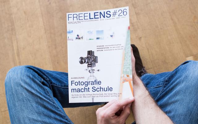 Das Titelfoto zum Themenschwerpunkt Studium und Ausbildung fotografierte für uns Christian O. Bruch.