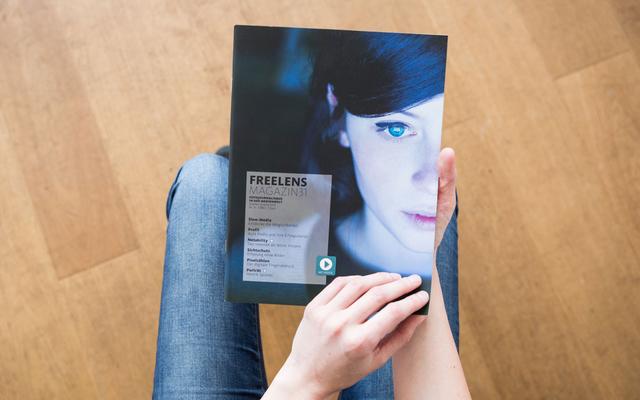 Der Monitor als Fixpunkt des Lebens. Das Titelbild von Hannes Jung und Felix Schmitt stammt aus ihrer Reportage über die Zukunft im Internet.