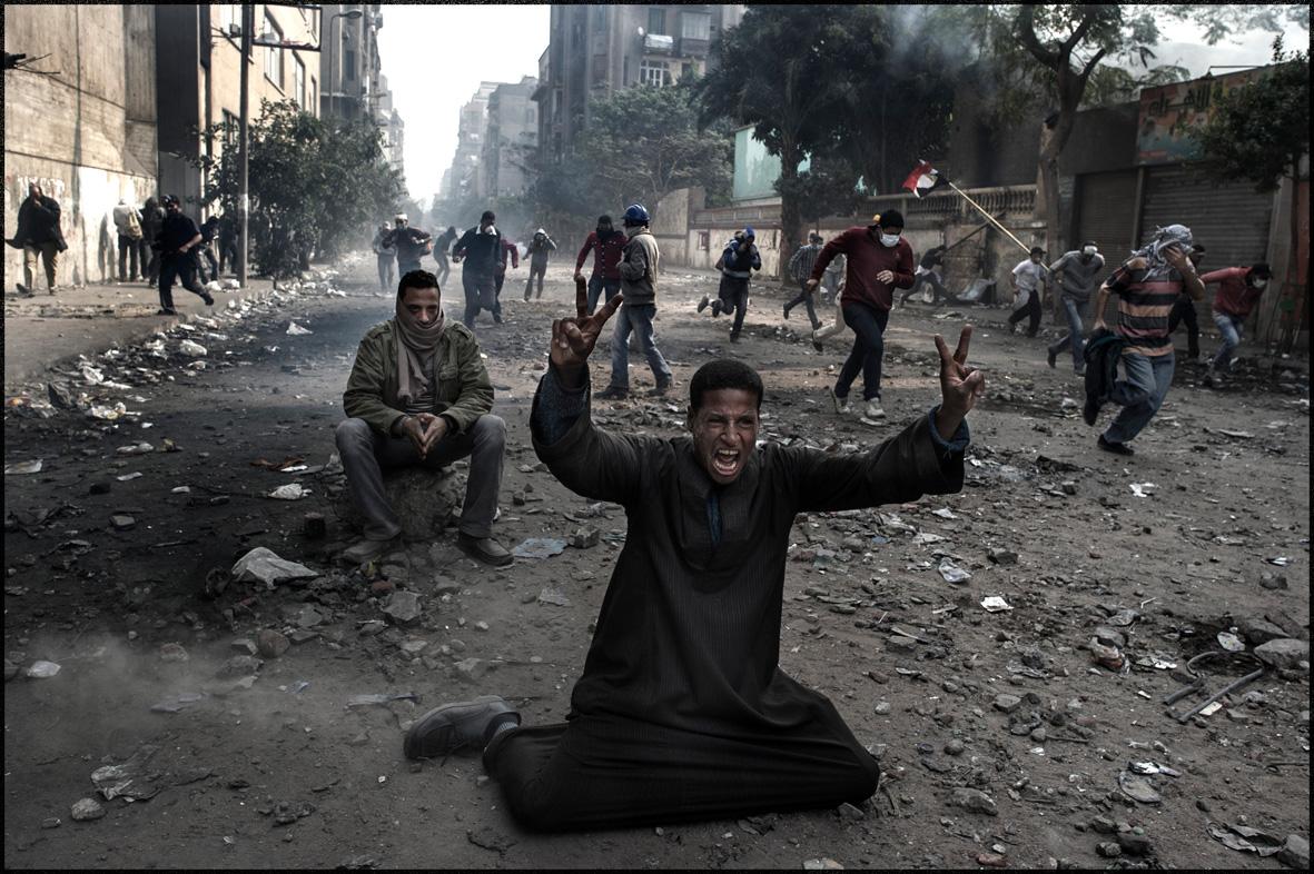 Aus der Serie »Arab Spring«.