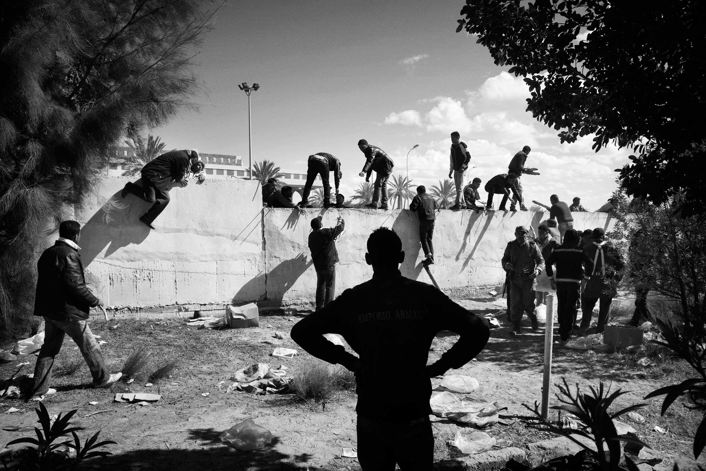 Tunesien, 2011.
