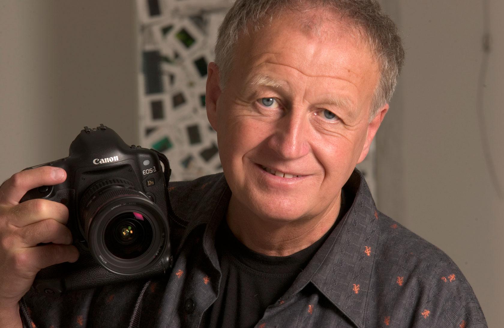 Der National Geographic Fotograf Gerd Ludwig.