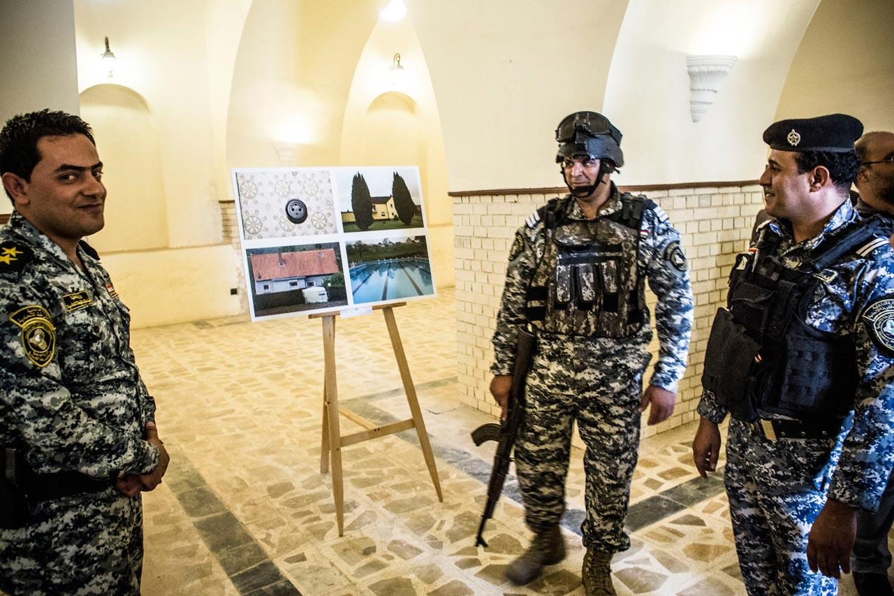 Ein Tag Deutschland in Bagdad