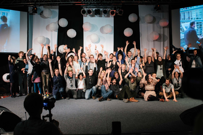 Die »anderen« Gewinner:Ohne die monatelange Vorarbeit und den großartigen Einsatz der Fotostudenten würde es dieses Festival nicht geben.