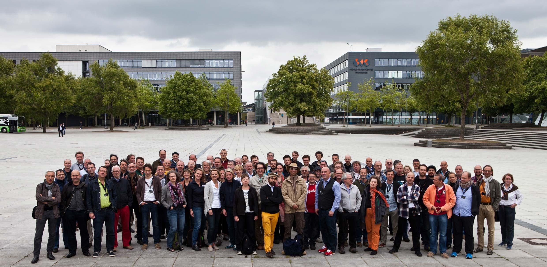 Das obligatorische Gruppenfoto – Tradition seit 1995.