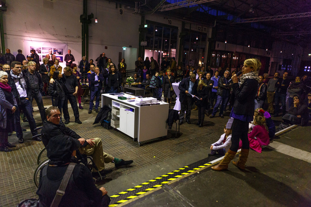 Mehr als 500 Besucher sahen die Ausstellung im Depot.
