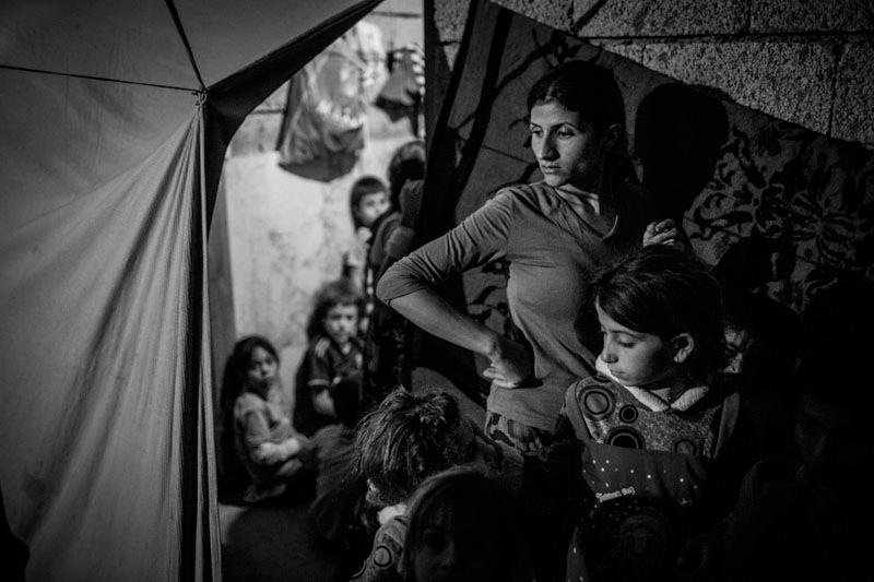 Aus der Reportage »Die Vertreibung der Jesiden im Irak«. Foto: Christian Werner/laif