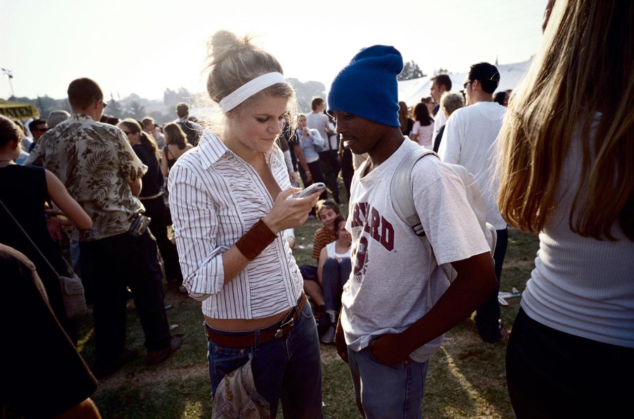 Jugendliche auf einem Festival in Auckland Park, einem Vorort von Johannesburg.