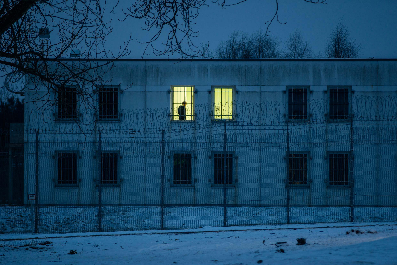 28.01.2014, Eisenhüttenstadt: Zentrale Ausländerbehörde des Landes Brandenburg (ZABH) in Eisenhüttenstadt, Abschiebegewahrsam.