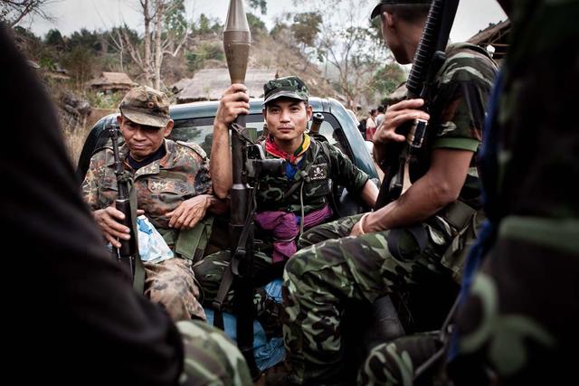 Burma, Karen Conflict.