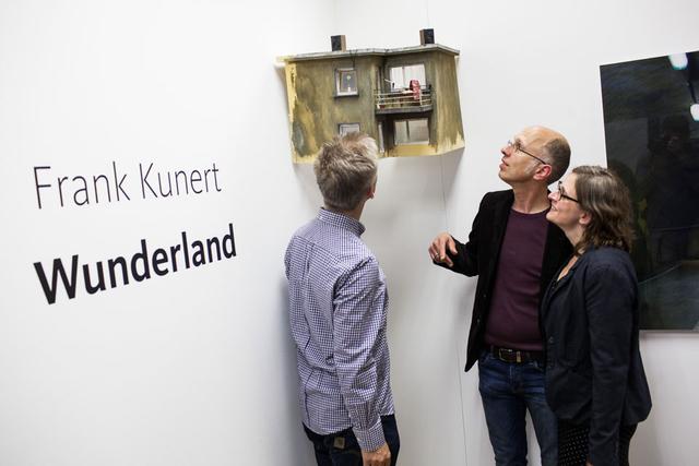 Ausstellungseröffnung »Wunderland« von Frank Kunert in der FREELENS Galerie.