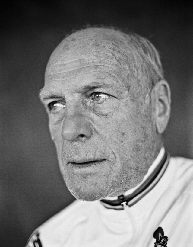 Rudi Altig, Jahrgang 1937. Deutscher Radrennfahrer, der sowohl auf der Bahn als auch auf der Straße Weltmeister wurde.