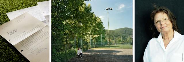 Martina Hertel (geb. Arzdorf) führte uns zu den Anfängen ihrer Fußballkarriere, die auf dem Bolzplatz des SV Waldporzheim begann. Schon mit 15 Jahren wurde die Stürmerin 1970 bei der ersten (inoffiziellen) WM in Italien zum Shootingstar. Sie schoss das einzige Tor der deutschen Mannschaft. Im Laufe ihrer neunjährigen Karriere schoss Martina Arzdorf über 200 Tore und wurde mit dem »Bomber der Nation« Gerd Müller verglichen.