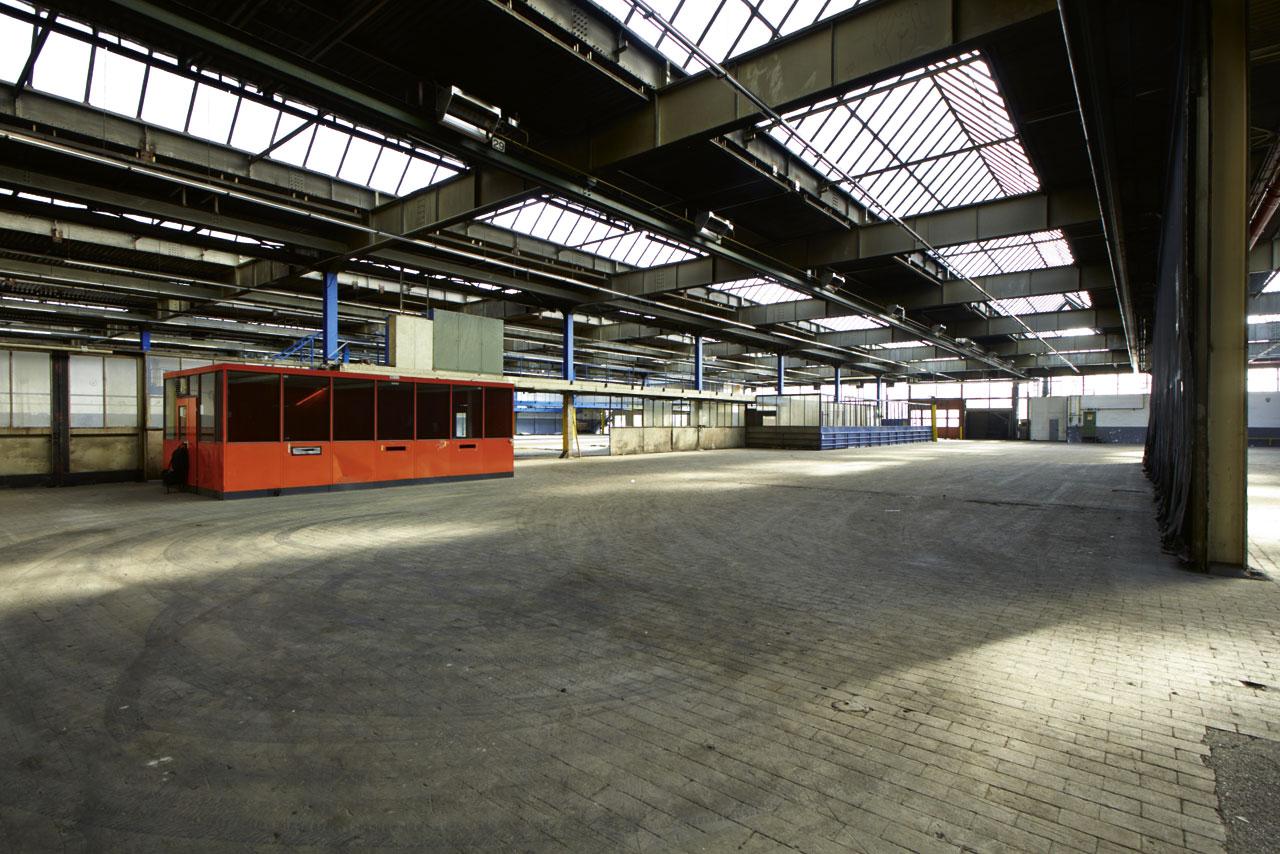 Noch herrscht gähnende Leere in der ehemaligen Kupferhalle. Ab August wird dort für zwei Monate ein Museum mit 24 geplanten Ausstellungen eingerichtet.