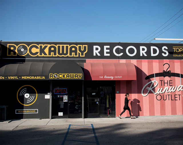 »Rockaway Records«,  Los Angeles.