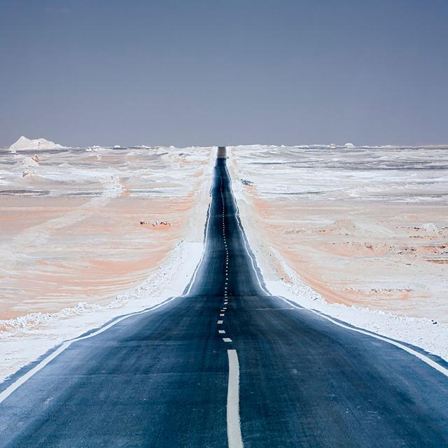 Libysche Wüste.