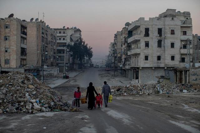 Syrien: Heimat verlassen.