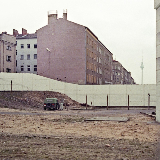 Aus dem Fotozyklus »Berliner Mauer«.