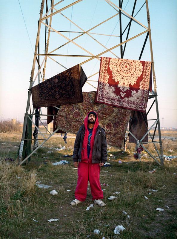 Kefaet Prizremi, abgeschoben aus Essen, lebt seit knapp zwei Jahren in Plemetina, Kosovo, 2011.