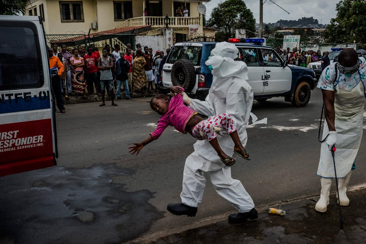 Daniel Beruhalaks Reportage »The Ebola Epidemic« für die New York Times wurde auf dem Festival gleich zweimal ausgezeichnet.