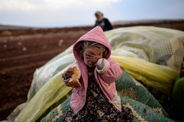 Ausgezeichnet mit dem Visa d'Or News Award: Bülent Kiliç mit seiner Arbeit zu syrischen Geflüchteten an der türkischen Grenze.