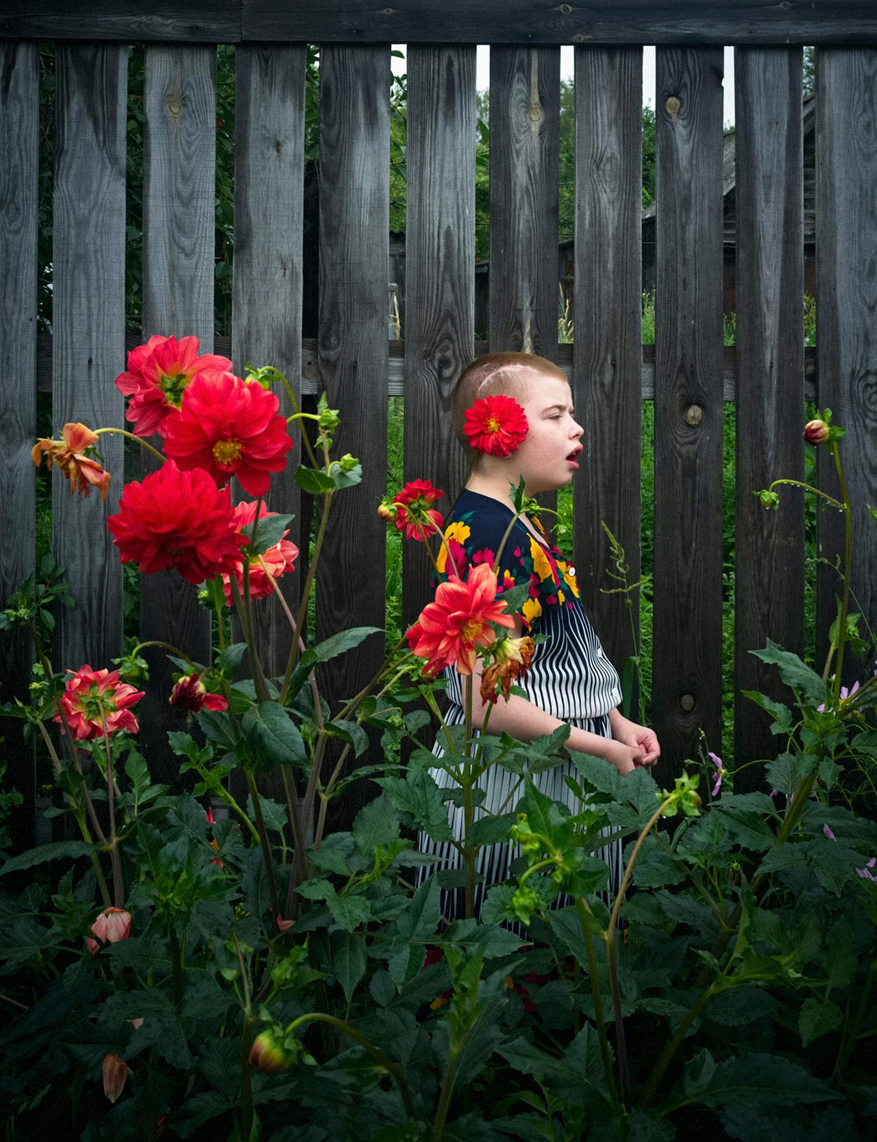 Anastasia Rudenko ist mit »Mental Illness in Russia« die Gewinnerin des Canon Female Photojournalist Awards.