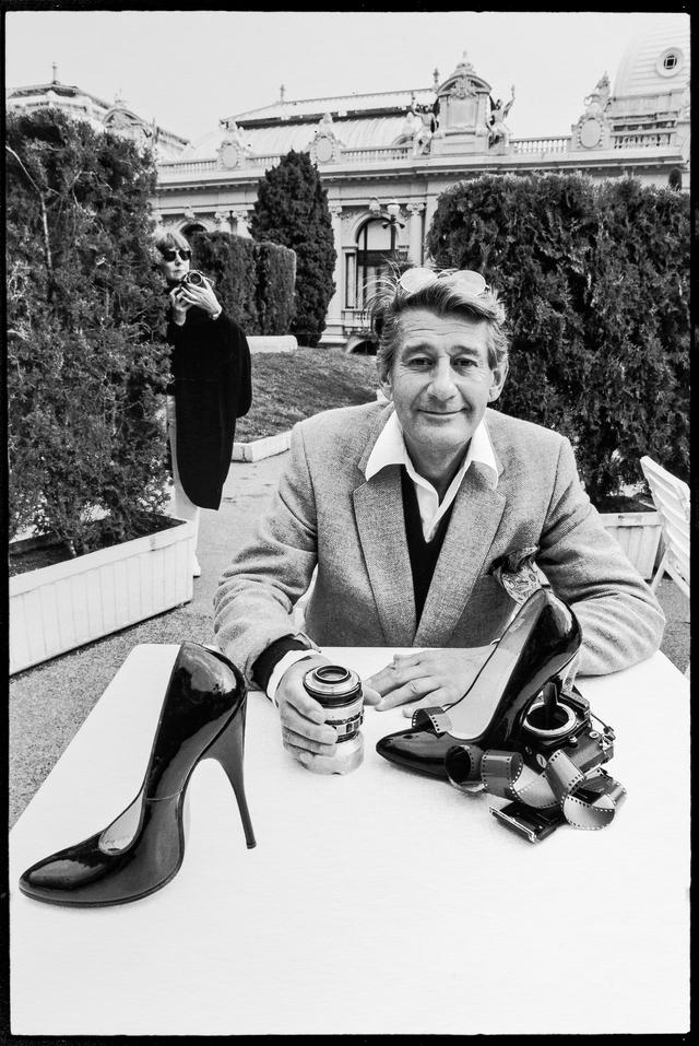 June Newton, aka Alice Springs, Helmut Newton, Monte Carlo 1983.