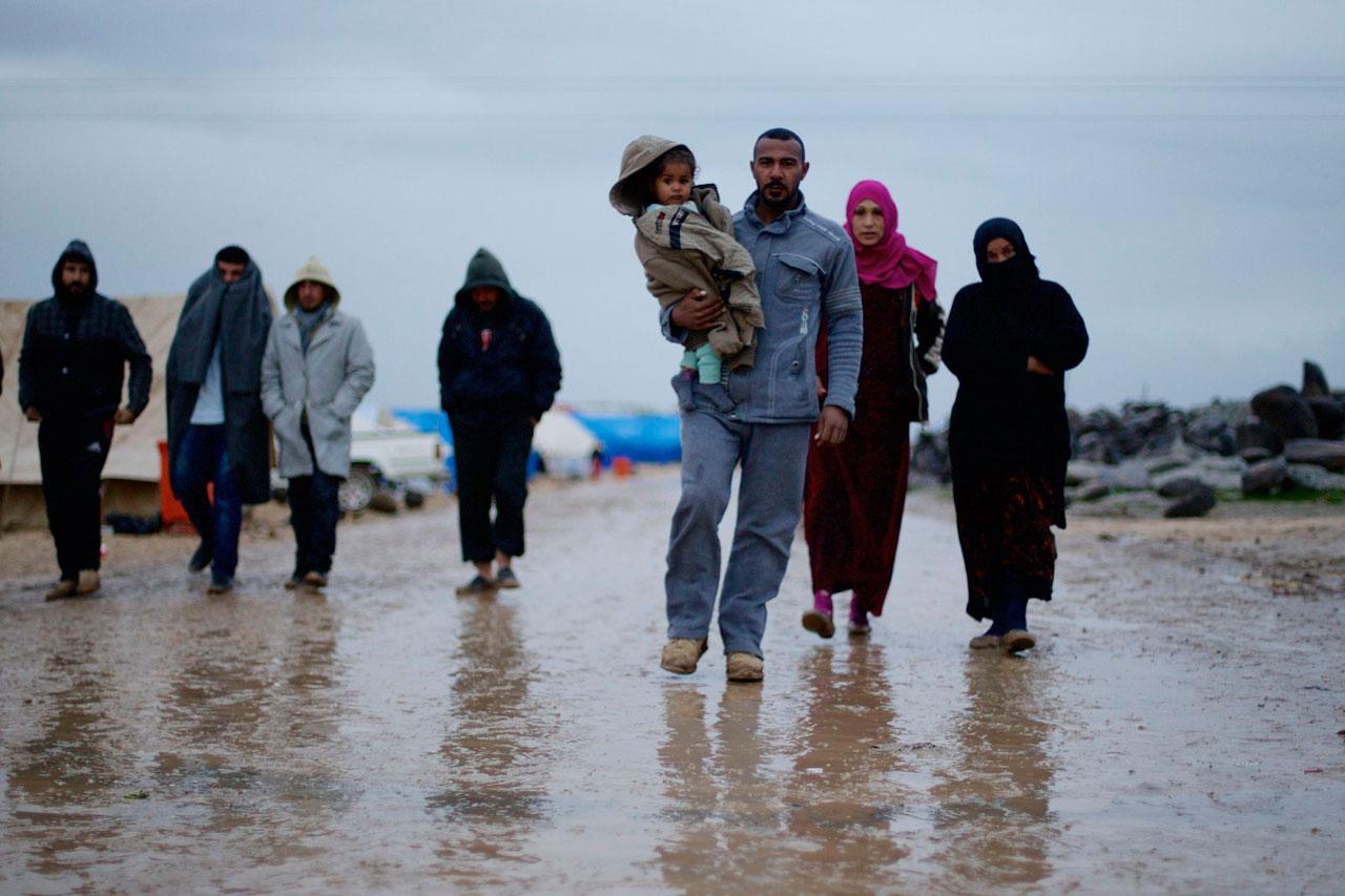 Bilder von 2014/2015 aus dem syrischen Kurdengebieten Rojava. Foto: Mark Mühlhaus/attenzione
