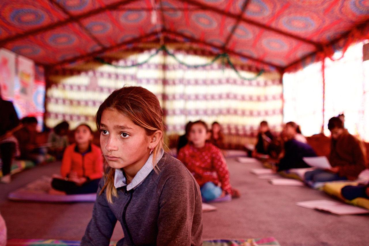 Bilder von 2014/2015 aus dem syrischen Kurdengebieten Rojava. © Mark Muehlhaus / attenzione photographers