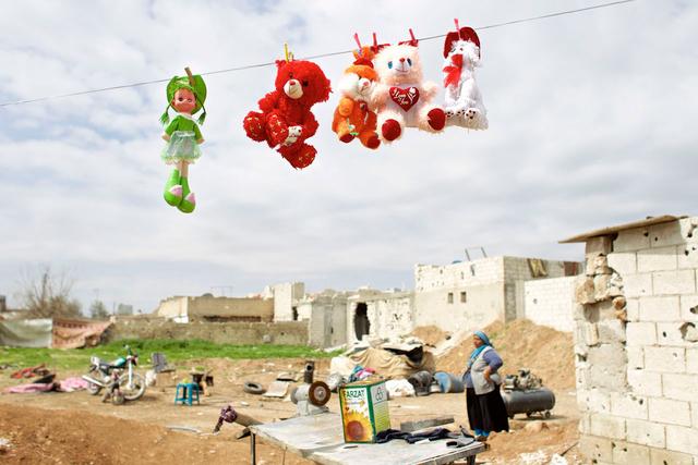 Die Bilder der Ausstellung »Back to Rojava« zeigen den Alltag der Bevölkerung in Syrisch-Kurdistan.