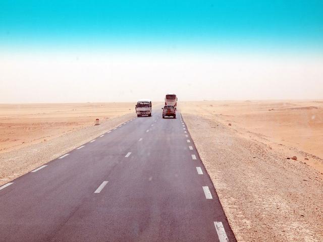 Aus der Arbeit »Eine algerische Reise«.