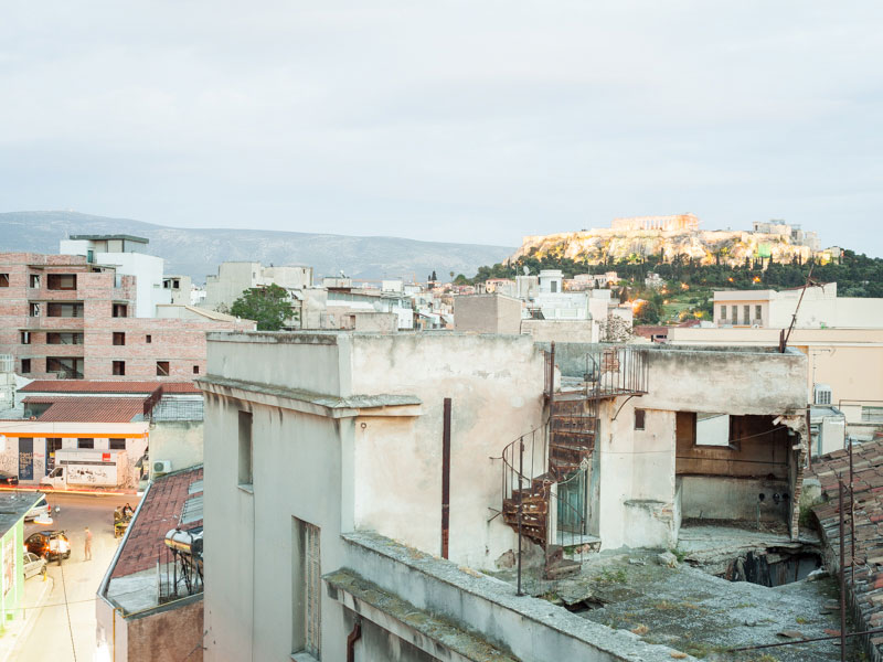 Aus der Serie »Athens Diary, 2015«.