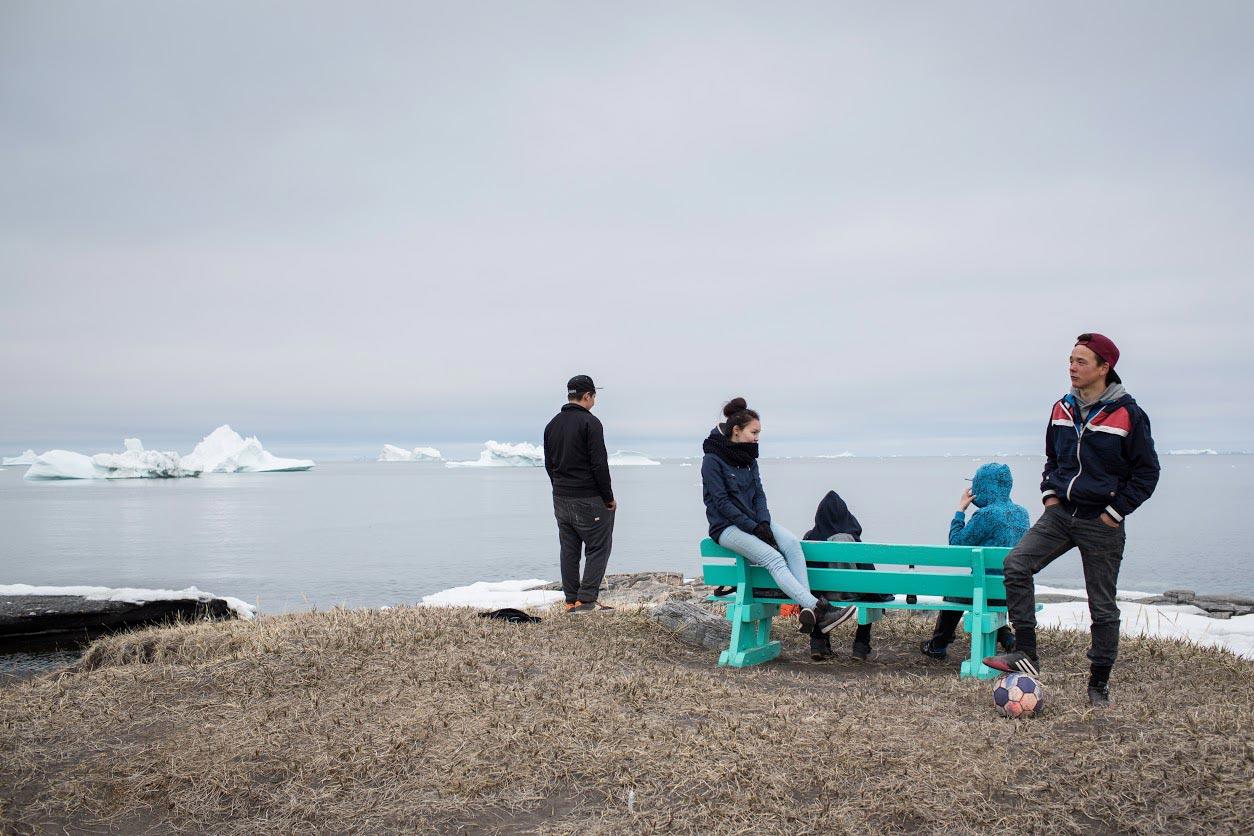 Aus der Arbeit »Inuugit – Grönlands Jugend und der Suizid«.