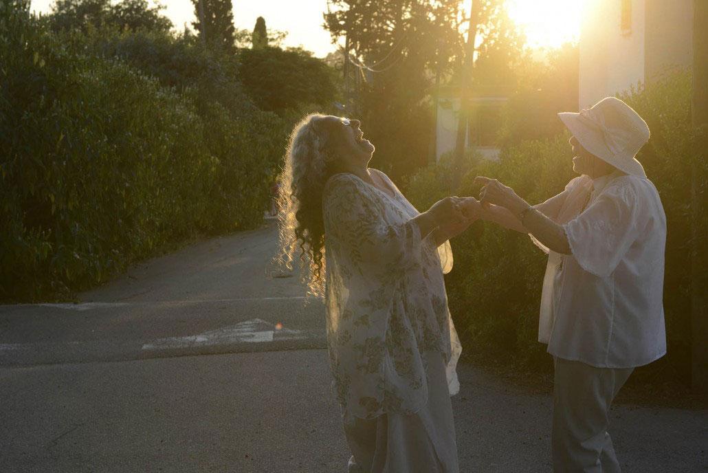 Die Holocaust-Überlebende Judith mit ihrer Tochter.