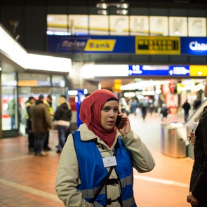 Transitflüchtlinge in Hamburg