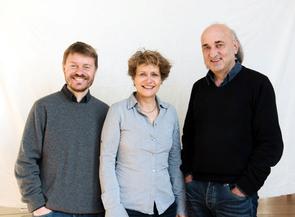 Die neuen Vorstände Christoph Bangert, Bettina Flitner und Manfred Linke in Köln.
