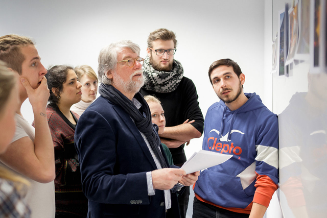 Unialltag. Kurzzeitreportage bei Rolf Nobel im ersten Semester.