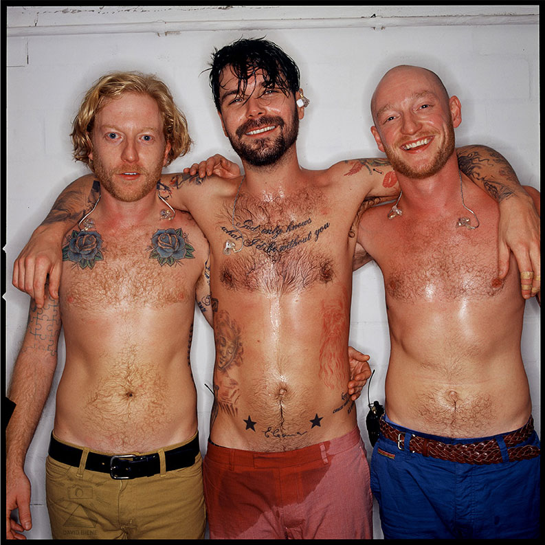 Biffy Clyro for »OFFstage«.