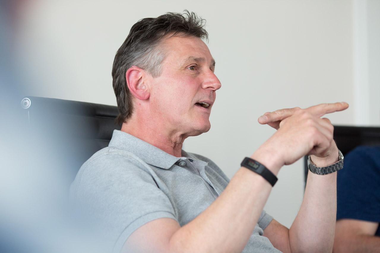 Uwe Reinert, Hundertschaftsführer bei der 2. BPH Niedersachsen.