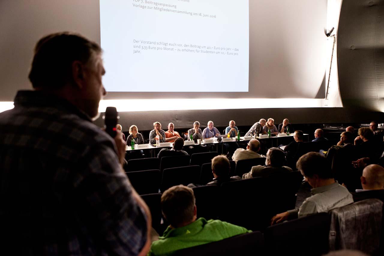 Besonders über das Thema Beitragserhöhung wurde vor der Abstimmung ausführlich und kontrovers diskutiert.