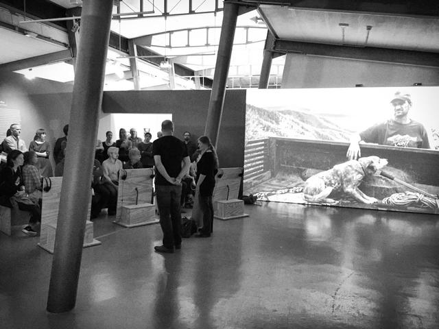 Uwe H. Martin und Frauke Huber geben exklusive Einblicke in Ihr Langzeitprojekt, das als transmediale Ausstellung im Museum der Arbeit gezeigt wird.