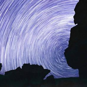 Sterne in der Atacamawüste, Chile 2015.